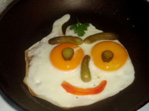 Позитивные яичницы