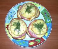 Гавайские тостики