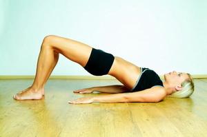 Комплекс упражнений против целлюлита. Часть 2