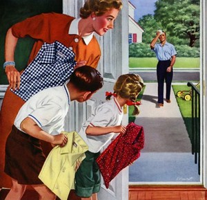 Как нужно встречать мужа с работы